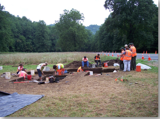 CHEROKEE AND ROBBINSVILLE HIGH SCHOOL STUDENTS COMPLETE ARCHAEOLOGICAL FIELD PROGRAM